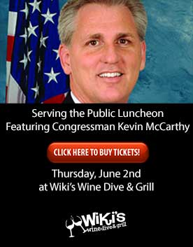 An luncheon with Congressman Kevin McCarthy